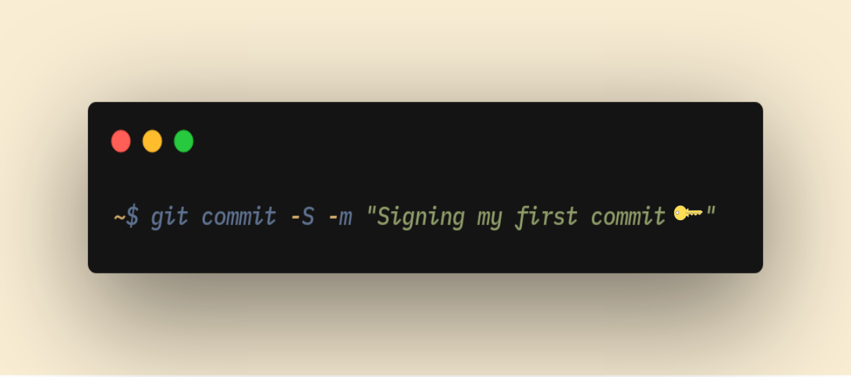 :: GPG-signing your Git commits